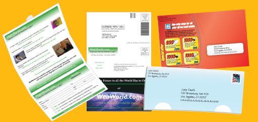 self mailer templates