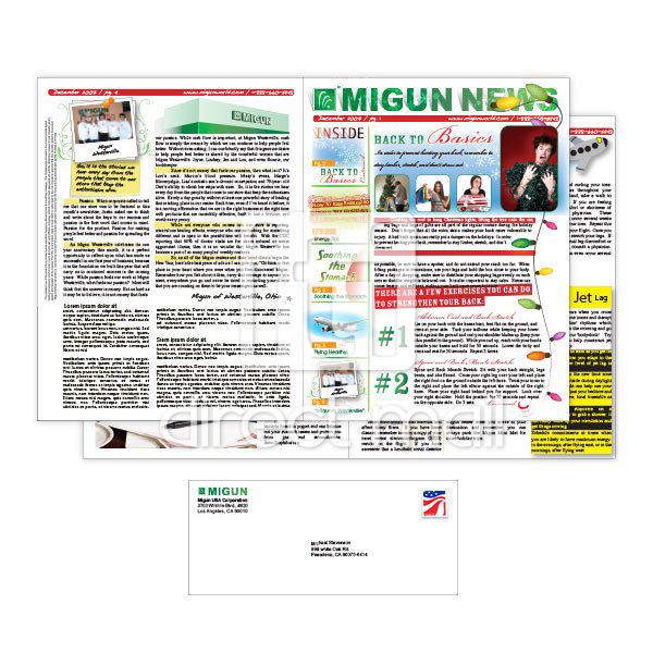 11x17 Newsletters With Direct Mail Iti Direct Mail