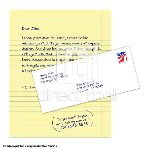 yellow letter iti direct mail With yellow letters direct mail