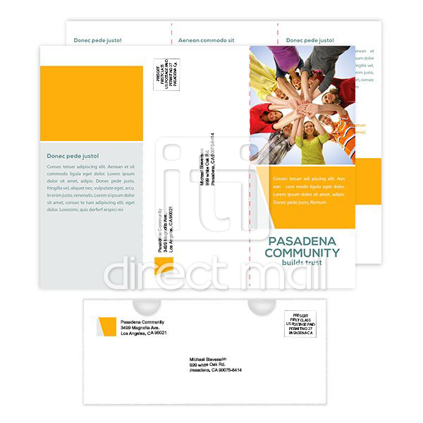 short run digital brochure printing with direct mail iti direct mail
