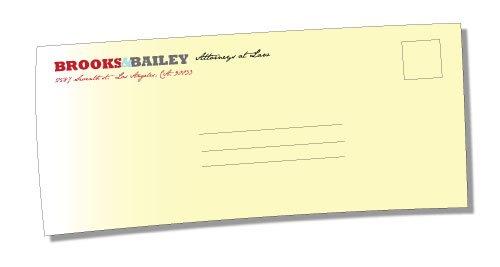 no9 envelope printing services iti direct mail. Black Bedroom Furniture Sets. Home Design Ideas