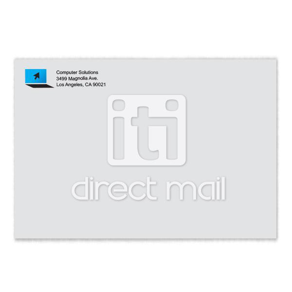 color announcement envelope