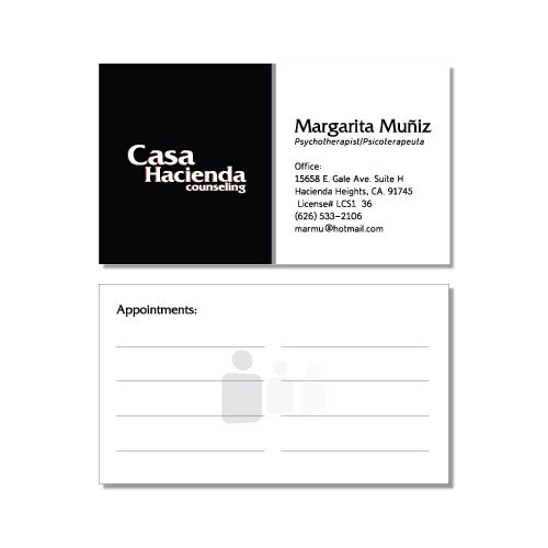 Business card design simple bw iti direct mail business card design simple color reheart Gallery