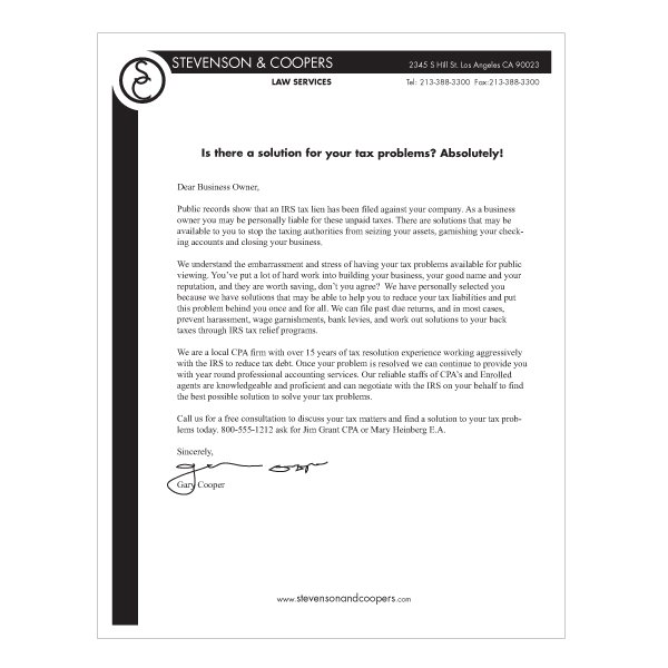 Letterhead design simple bw iti direct mail letterhead design template based spiritdancerdesigns Image collections