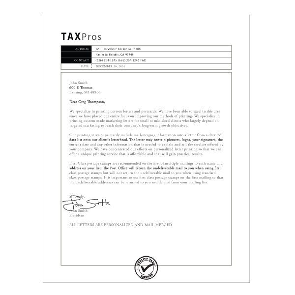 letterhead design template based