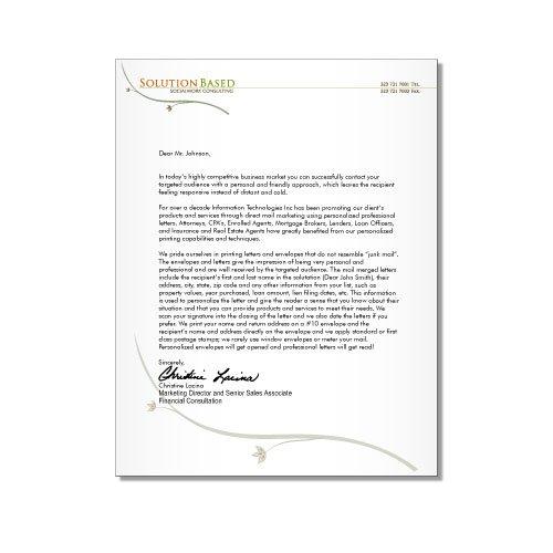 account manager sales rep cv samples marketing letterhead design