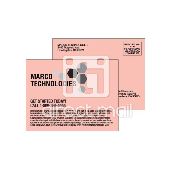 economy postcards printed digitally iti direct mail. Black Bedroom Furniture Sets. Home Design Ideas